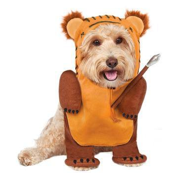 Star Wars Ewok Dog Costume-Rubies Costumes-High Society Canine