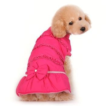 Sweet Winter Dog Coat by Dogo - Pink-DOGO-High Society Canine