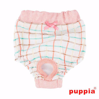 Tot Dog Sanitary Pants by Puppia - Peach - Panties - Puppia - High Society Canine LLC - 1