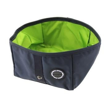 Trek Square Portable Bowl by Puppia Life - Navy-Puppia-High Society Canine