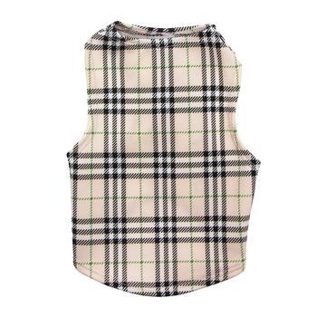 Under-Wrapper Plaid Dog Tank by Daisy and Lucy-Daisy and Lucy-High Society Canine