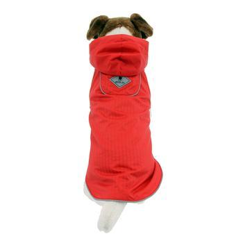 Worthy Dog Seattle Slicker Dog Raincoat - Red-Worthy Dog-High Society Canine