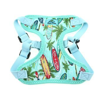 Wrap and Snap Choke Free Dog Harness by Doggie Design - Surfboards and Palms-Doggie Design-High Society Canine
