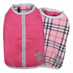 Zack and Zoey Noreaster Dog Blanket Coat - Pink