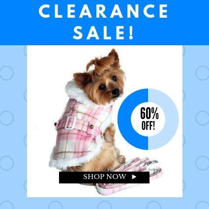 Clearance Dog Clothes | Dog Clothes On Sale | High Society Canine