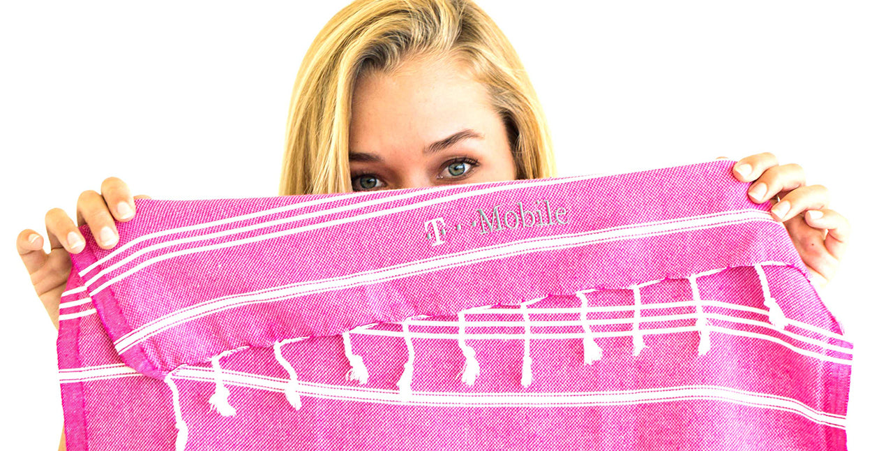 Embroidery Elevates Turkish Towels for corporate gifts, sporting events, fundraisers and auctions