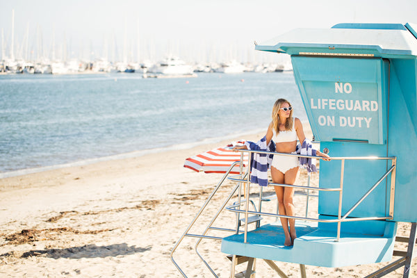 No Life Guard On Duty - Ocean Clean Up Affiliate Program