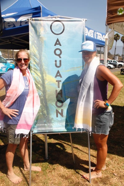 Aquathon Santa Barbara Channel Keeper Towels for Trophies