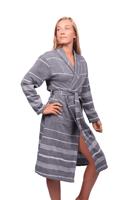7ba96b72ba Essential Turkish Cotton Bath Robes Essential Turkish Cotton Bath Robes