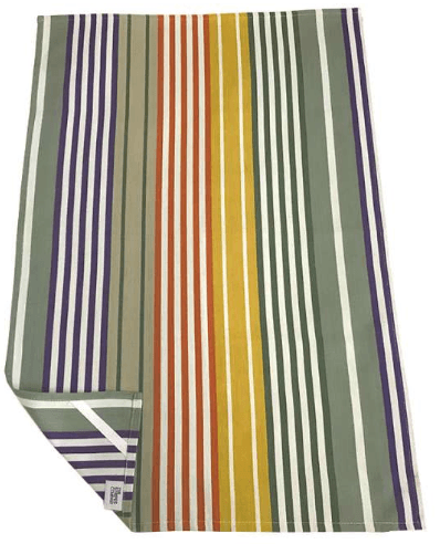 Tea Towel - Striped Tea Towel - Single