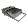 Stainless Steel Pull-out Knockbox Drawer