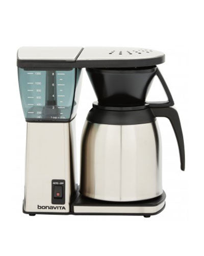 Bonavita Original 8 Cup Coffee Maker with Stainless Steel Thermal Carafe - Coffeeionado - 1