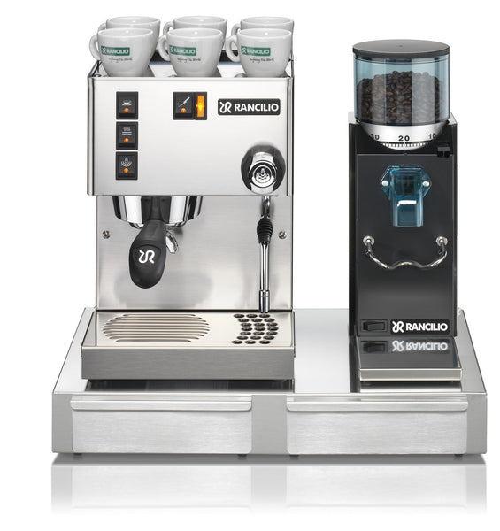 Rancilio Silvia M & Rocky Doserless Package