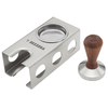 Bezzera Coffee Tamper with Wooden Knob and Blind Filter