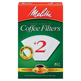Melitta #2 White Filters - Coffeeionado