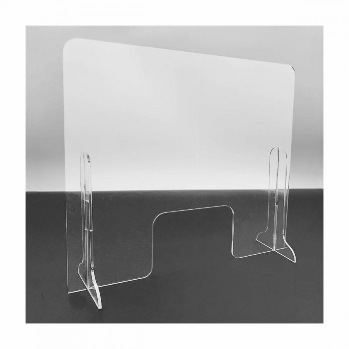 "Large 24""x28"" Acrylic Sneeze Guard Counter Shield by EP"