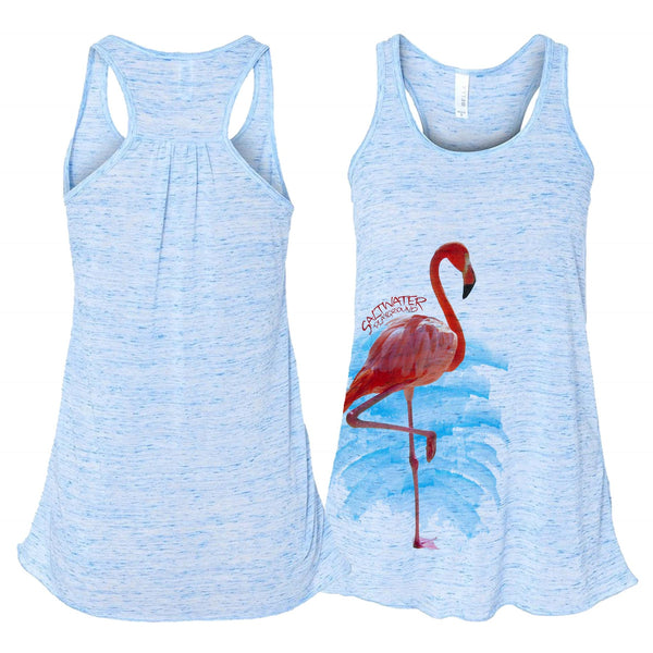 Flamingo Racerback Tank top