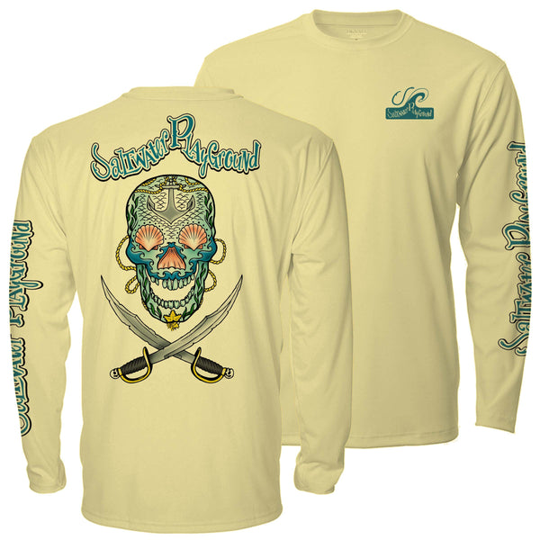 Lucky Jack UPF - Yellow - Long Sleeve