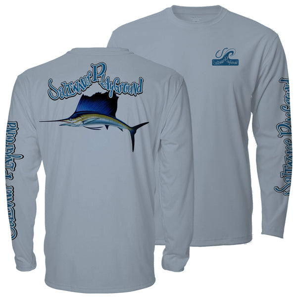 Men's Sailfish UPF - Arctic Blue