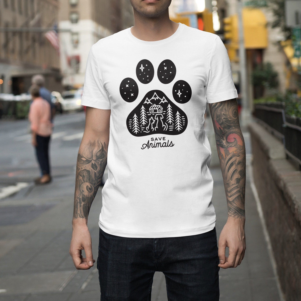 Save Animals T-Shirt