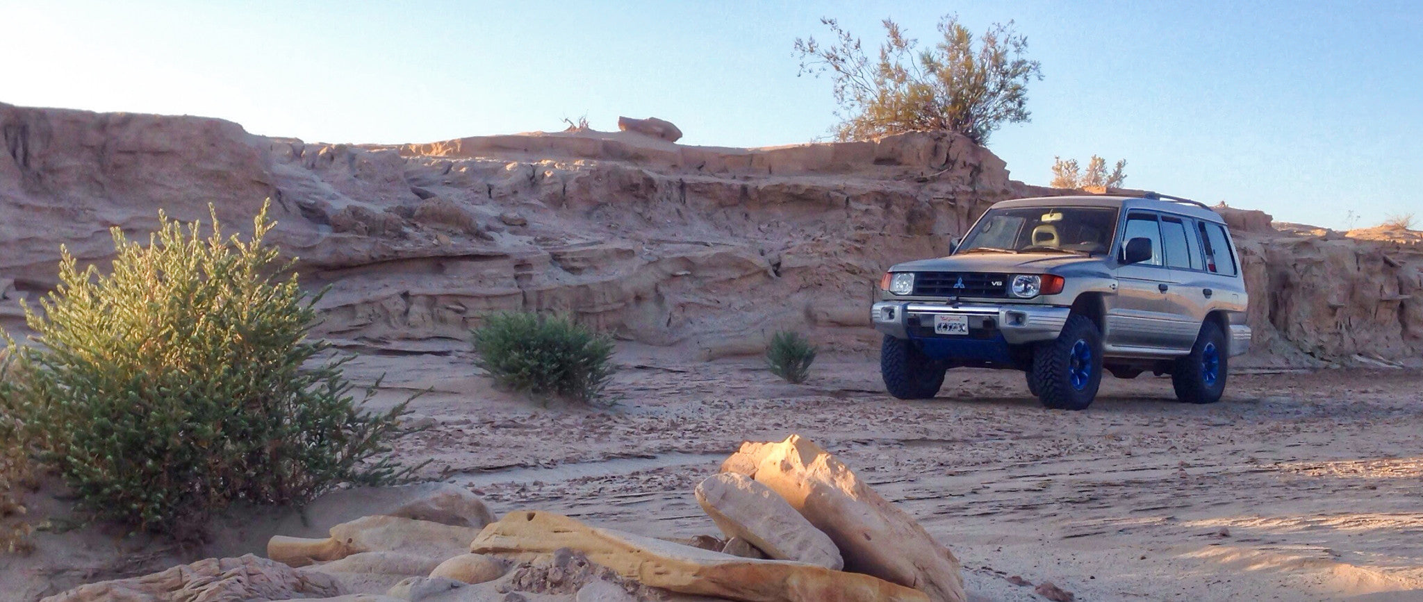 Anza Borrego off road camping