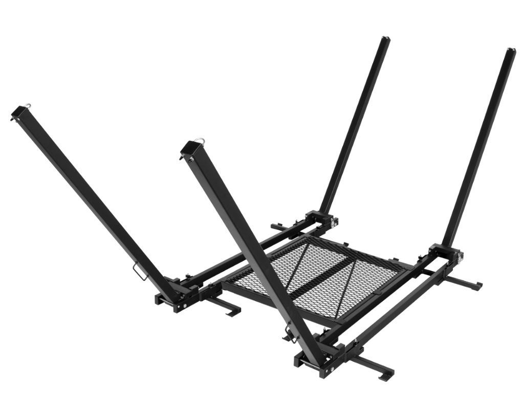 Two TrailNest Roof Top Hammock Stands with double floor