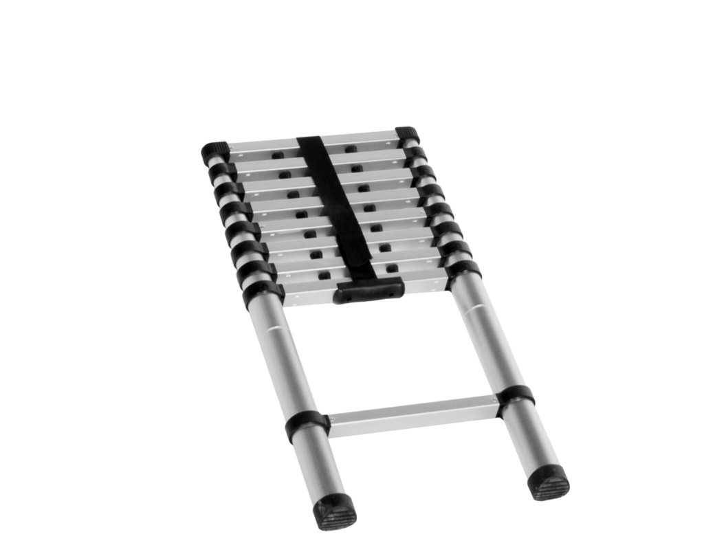 Telescoping Aluminum Ladder for TrailNest Roof Top Hammock Stand