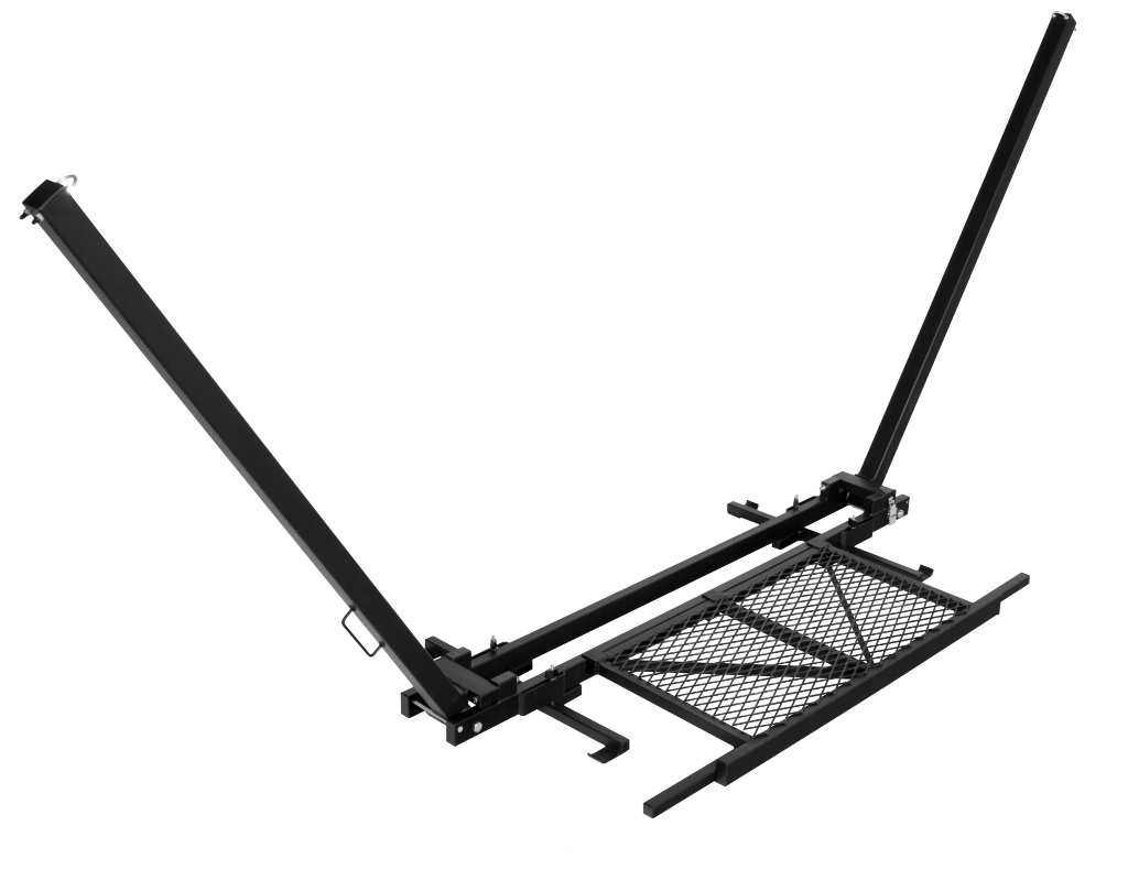 TrailNest Roof Top Hammock Stand with single floor