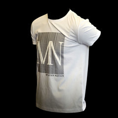 men's premium 'bien plus' mn airbrushed t-shirt