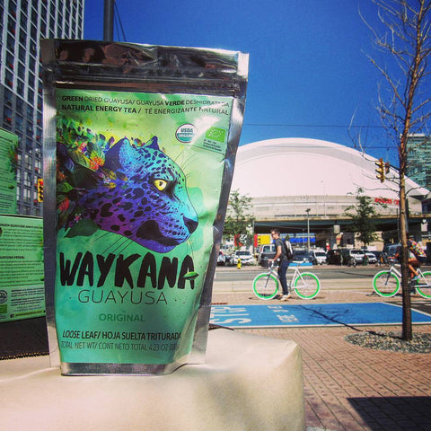 Waykana Green Guayusa Tea - 120g Loose Leaf