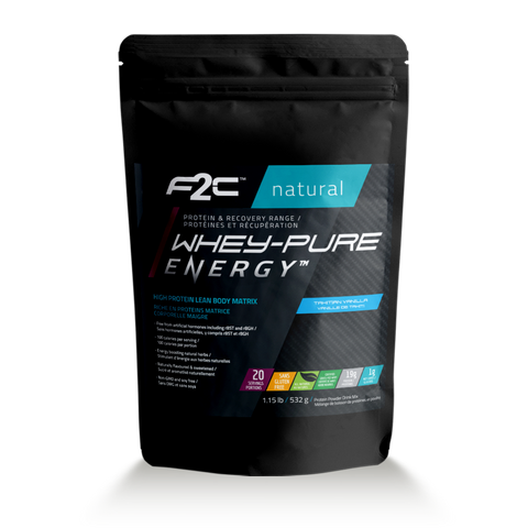 F2C Natural Whey-Pure Energy™