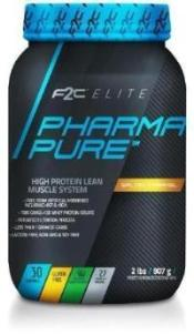 F2C Elite Black Label Pharma Pure 100% Grass Fed Whey Isolate