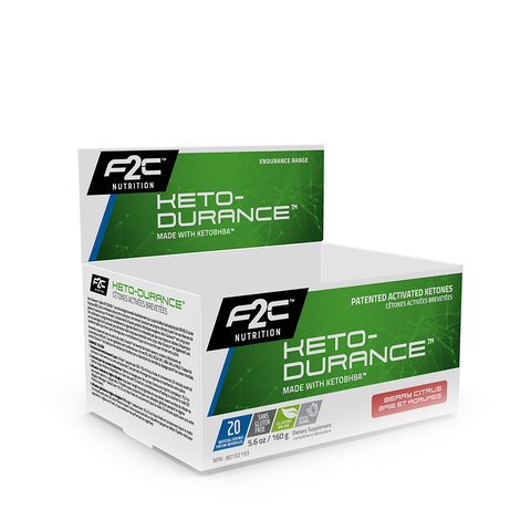 F2C Keto-Durance™ 20 Single Serving Retail Display Box **Available 02/21**
