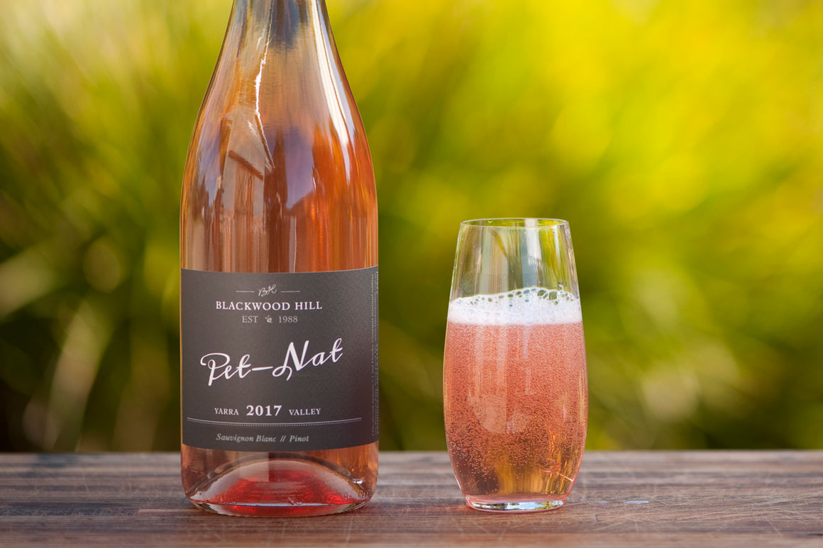 A delicious summer refresher! Co-fermented Sauvignon Blanc and Pinot. This is a dry spritzy Pét-Nat (pétillant naturel) - naturally occurring bubbles with sour cherry, rose and watermelon flavours that linger on your palate - Yarra Valley - Australia