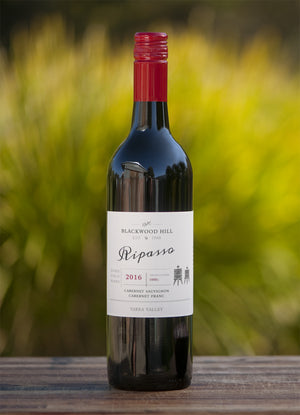 2016 Cabernet Sauvignon Franc Ripasso. Also known as 'Baby Amarone' is the unique result of re-fermenting our red wine on the warm pressings of dried grapes, an enriched wine for red wine and Amarone lovers, made with minimal intervention - Yarra Valley - Australia