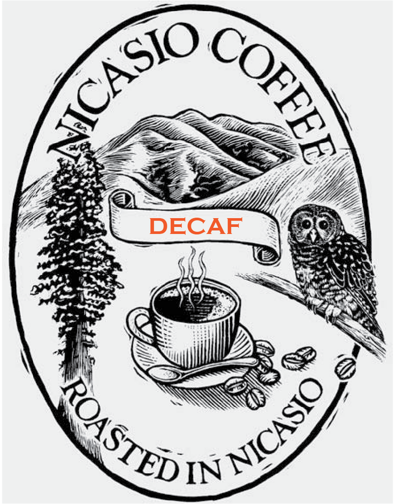 Decaf -- 100% Organic using only CO2!