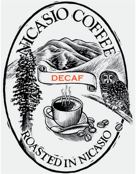 Decaf -- 100% Organic using only water!