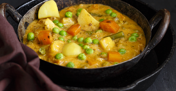 10 Minute Chicken and Veg Curry