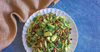 Festive Shredded Brussels Sprout Salad
