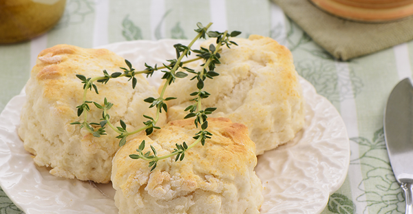 Goats Cheese, Walnut and Rosemary Scones