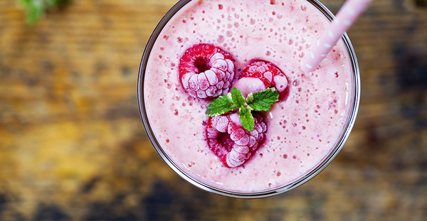 Raspberry and Mint Smoothie