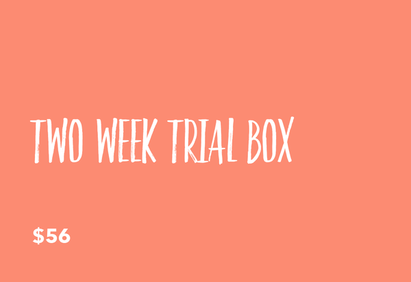 NUBODY TWO WEEK TRIAL BOX
