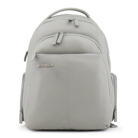 Piquadro Men's Leather Rucksack Grey CA1885X2