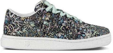 K-Swiss Women's Classic 88 Liberty Trainers Black Liberty Print