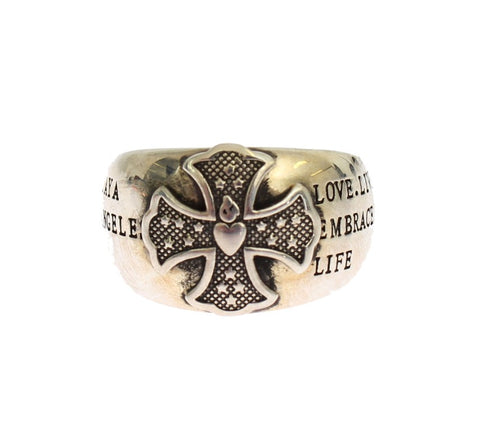 Nialaya Women's Crest 925 Sterling Ring Silver SIG19147