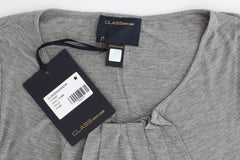 Cavalli Women's Jumper Top Grey SIG12080