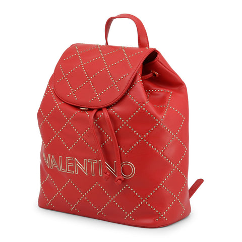 Valentino by Mario Valentino Women's Backpack Red VBS3KI02
