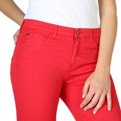 Armani Jeans Women's Trousers Red 3Y5J10 5N18Z