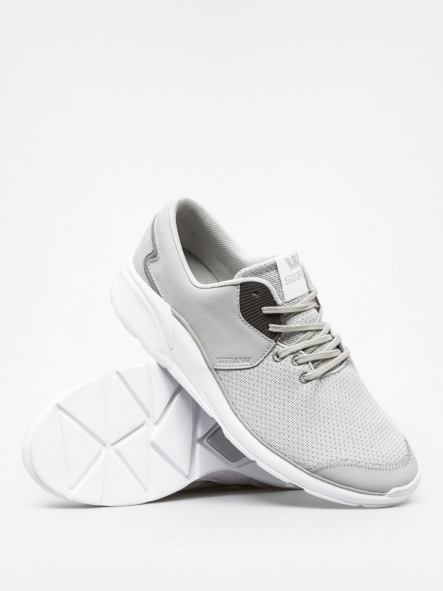 Supra Men's Noiz Light Grey White Trainers