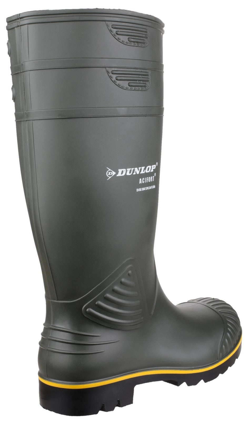 Dunlop Unisex Acifort Heavy Duty Non Safety Wellington Boot Green 22711